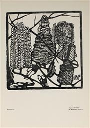 Sale 9001 - Lot 563 - Margaret Preston (1875-1963) - Banksia, c1932 15 x 15 cm