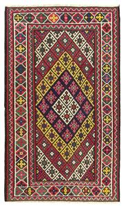Sale 8918C - Lot 22 - Persian Nomadic Afshar Kilim, 185x315cm, Handspun Wool