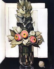 Sale 9072A - Lot 5064 - Margaret Preston (1875 - 1963) - West Australian Gum Blossom 53 x 43 cm (frame: 99 x 83 cm)