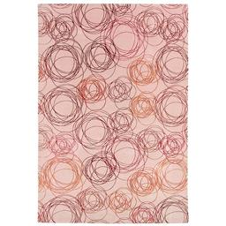 Sale 9124C - Lot 5 - Nepal Tashi Stripe Rug,185x217cm, Tibetan Highland Wool & Silk