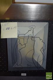 Sale 8506 - Lot 2006A - Greg Frawley (1947 - ) - Saltimbanques I 25 x 20cm