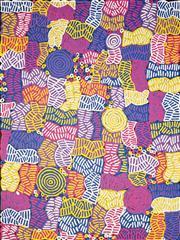 Sale 8642 - Lot 541 - Betty Mbitjana (1955 - ) - Bush Melon - Awelye 201 x 151cm