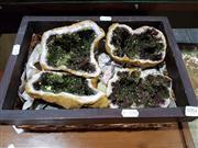 Sale 8826 - Lot 1084 - Split Geodes (2 pair)