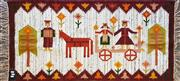 Sale 8979 - Lot 1056 - Family Themed Wall Hanging (142 x 68cm)