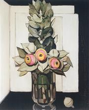 Sale 9034A - Lot 5060 - Margaret Preston (1875 - 1963) - 1928 Still Life 54 x 43 cm (frame: 99 x 83 x 3 cm)