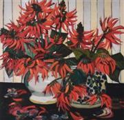 Sale 9072A - Lot 5079 - Margaret Preston (1875 - 1963) - Australian Coral Flowers 48 x 48 cm (frame: 88 x 83 cm)