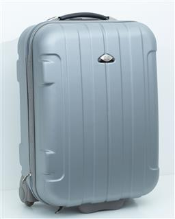 Sale 9150H - Lot 85 - A small metallic suitcase, Height 54cm