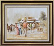 Sale 8286 - Lot 507 - John Guy (1944 - 2000) - The Burleigh Run 39 x 49.5cm