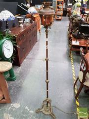 Sale 8480 - Lot 1019 - Brass Standard Lamp