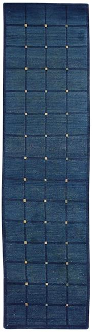 Sale 8626A - Lot 28 - A Cadrys Contemporary Tibetan Highland Wool Carpet, Size; 248x65cm, RRP; $1650