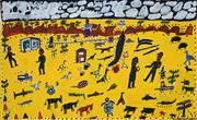 Sale 8786 - Lot 588 - Norman Kingsley - Untitled 90 x 58cm