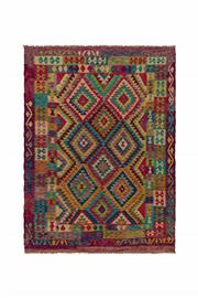 Sale 8918C - Lot 24 - Afghan Maymana Kilim, 180x245cm, Handspun Wool