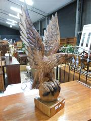 Sale 7943A - Lot 1509 - Carved Timber Eagle