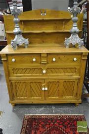 Sale 8347 - Lot 1070 - Antique Pine Cottage Sideboard