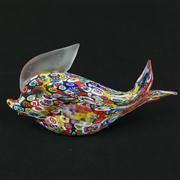 Sale 8402D - Lot 25 - Millefiori Art Glass Figure of a Fish (Length - 19cm)
