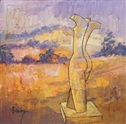 Sale 8525 - Lot 2011 - Greg Frawley (1947 - ) - Narellan Creek Torso 18 x 18cm