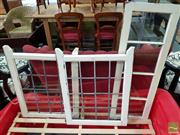Sale 8545 - Lot 1081 - Three Varied Timber Framed Windows