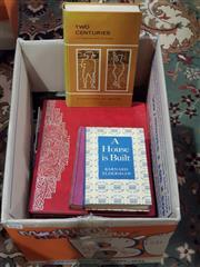 Sale 8822B - Lot 877 - Box of Various Books incl. Dickens, M. The Happy Prisoner; Eldershaw, B. A House is Built; The Awakening of Man; etc