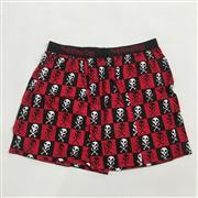 Sale 8893M - Lot 80 - The Living End Boxer Shorts in Black & Red, Size M