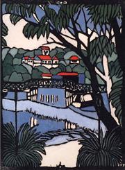 Sale 9072A - Lot 5069 - Margaret Preston (1875 - 1963) - Mosman Bridge 44 x 33 cm (frame: 68 x 56 cm)