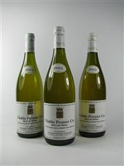 Sale 8335W - Lot 625 - 3x 2012 Domaine Gouailhardou Mont de Milieu 1er Cru, Chablis