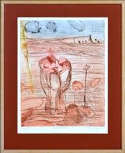 Sale 8382 - Lot 532 - John Olsen (1928 - ) - Exploration, 1987 50 x 40cm