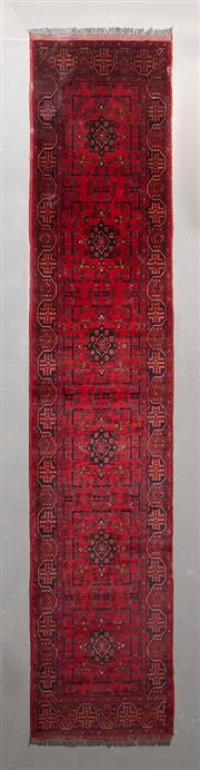 Sale 8472C - Lot 13 - Afghan Khal Mohamadi 400cm x 80cm