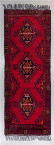 Sale 8480C - Lot 36 - Afghan Khal Mohamadi 150cm x 50cm