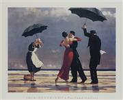 Sale 8711 - Lot 2073 - Jack Vettriano (1951 - ) - Dancing by the Sea 57 x 69cm