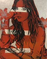 Sale 8723A - Lot 5022 - David Bromley (1960 - ) - Zippora 150 x 120cm