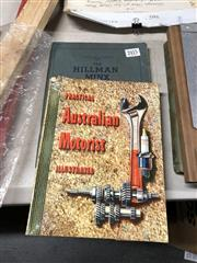 Sale 8819 - Lot 2415 - 2 Volumes: Practical Australian Motorist Illustrated, ed. D.K. Thomas; The Hillman Minx Service Manual 1936/37/38/39, Rootes Group