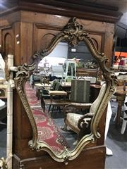 Sale 8893 - Lot 1073 - Ornate Gilt Framed Mirror