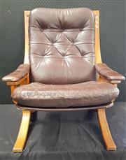 Sale 8943 - Lot 1053 - Tessa Bentwood Armchair (H: 92, W: 67, D: 70cm)