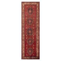 Sale 9124C - Lot 9 - Persian Tribal Hamadan Carpet, 125x395cm, Handspun Wool