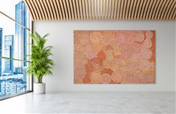 Sale 9171A - Lot 5042 - WALANGKURA NAPANANGKA (c1922 - 2010) - My Country, 2007 200 x 300 cm (stretched and ready to hang)