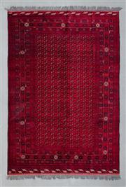 Sale 8472C - Lot 14 - Afghan Bukhara 300cm x 200cm
