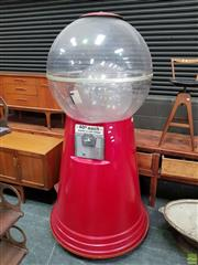 Sale 8625 - Lot 1028 - Oversized Gumball Machine (Approx. 225 x 115cm) -
