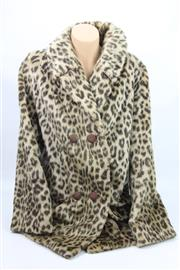 Sale 8626 - Lot 61 - Leopard Print Coat Size 10-12