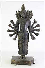 Sale 8877 - Lot 26 - A Cast Alloy Figure Of Possibly Shiva H: 54cm