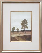 Sale 9053 - Lot 2004 - Michael Taylor, Two Birds, oil on board, 53 x 44 cm (frame), signed lower right