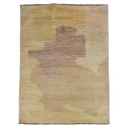 Sale 9124C - Lot 10 - Afghan Contemporary Ripples Design Rug, 210x160cm, Handspun Ghazni Wool