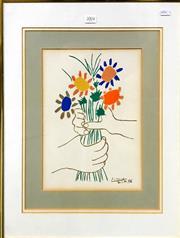 Sale 8797 - Lot 2071 - After. Pablo Picasso - Bouquet 21.4.58 colour lithograph, 29.5 x 22cm, unsigned