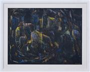 Sale 8374 - Lot 544 - Desiderius Orban (1884 - 1986) - Untitled (Figures and Buildings) 48.5 x 63.5cm