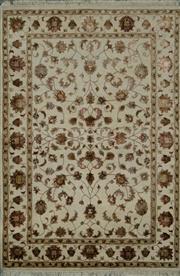 Sale 8424C - Lot 44 - Indian Silk & Wool 118cm x 175cm