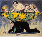 Sale 8609A - Lot 5045 - Fred Cress (1938 - 2009) - Guardian 56 x 76cm (sheet: 60 x 80cm)