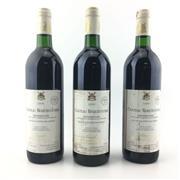 Sale 8611W - Lot 5 - 3x 1996 Vicomte Bernard de Romanet Chateau Roquecourbe, Minervois