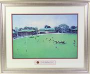 Sale 8994W - Lot 687 - A Framed Print of North Sydney Oval (71cm x 86cm)