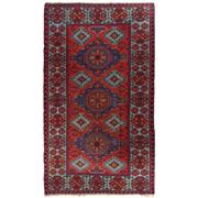 Sale 8918C - Lot 29 - Antique Caucasian Soumak Carpet, Circa 1940, 205x360cm, Handspun Wool