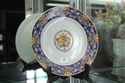 Sale 8292 - Lot 90 - Family Symbol Famille Rose Plate