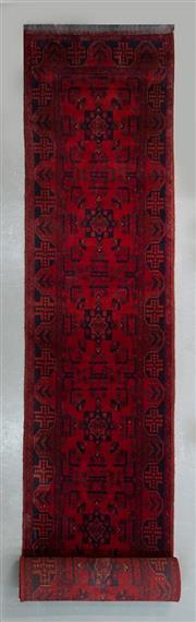 Sale 8472C - Lot 17 - Afghan Khal Mohamadi  472cm x 77cm